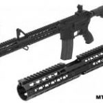 UTG PRO 15 Slim Keymod & M-LOKR Carbine Length Drop-in Handguards
