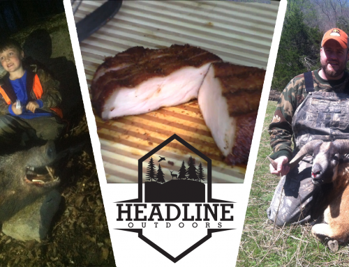 HEADLINE OUTDOORS SEASON 1 EPISODE 2 ADAM'S BIRTHDAY BOAR HUNT / CORSICAN RAM HUNT / SMOKED PORK CHOPS